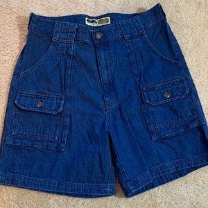 Cabela's 7 Pocket Hiker Jean Shorts Size 34